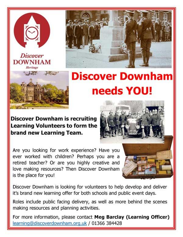 Discover Downham - volunteer