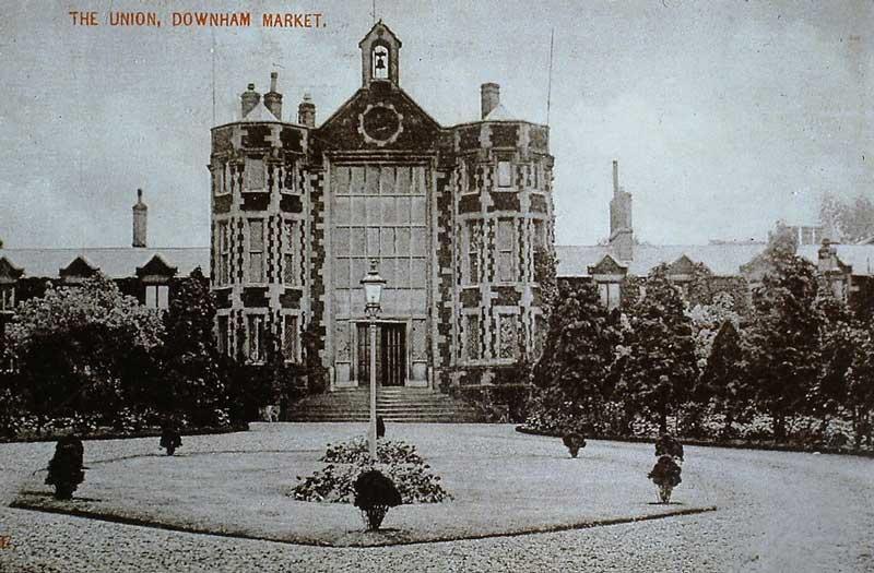 Downham Market Union Workhouse, London Road, Downham Market, T W Mollard collection, (bob)