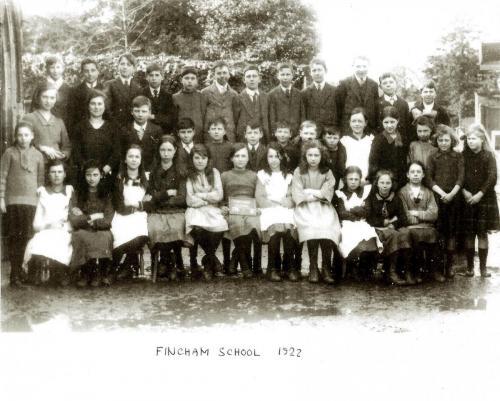 11095007Fincham School 1922