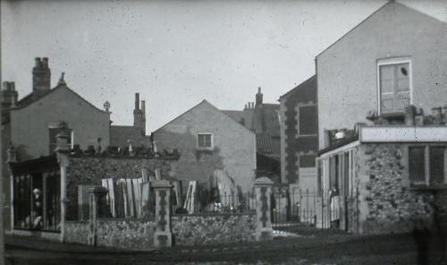 59Jonny Long's Stonemason yard, London Rd. D.Mk.