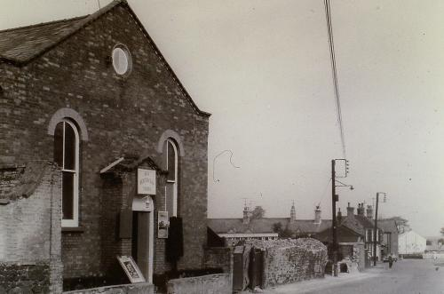 92 Priory Rd. Zion Chapel 1870's, Mr Watsons School 1920's, Salvation Army 1940's