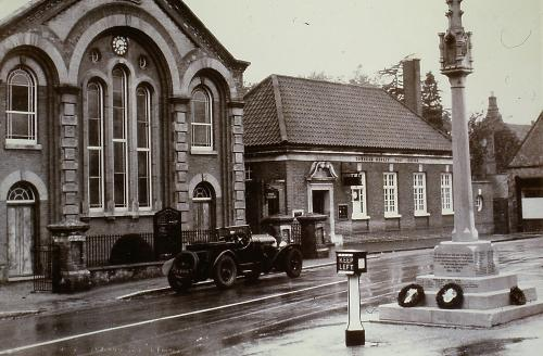 141      Primitive Methodist Chapel London Rd. D.Mk. Now demolished