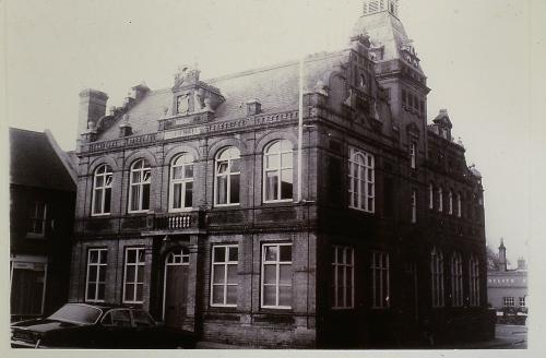 489    Downham Market Town Hall Built 1887 by J J Johnson of London Grade 2 Listed