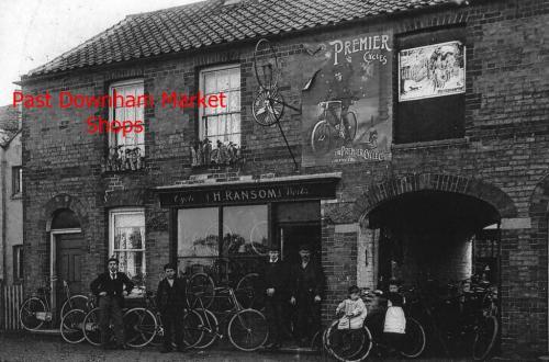 Downham past shops