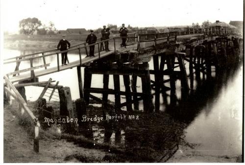 10147002  Bridge at Magdalen Norfolk